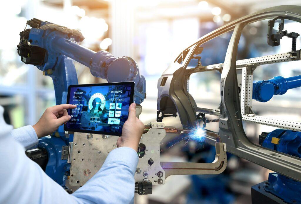 zarządzanie produkcją w branży automotive